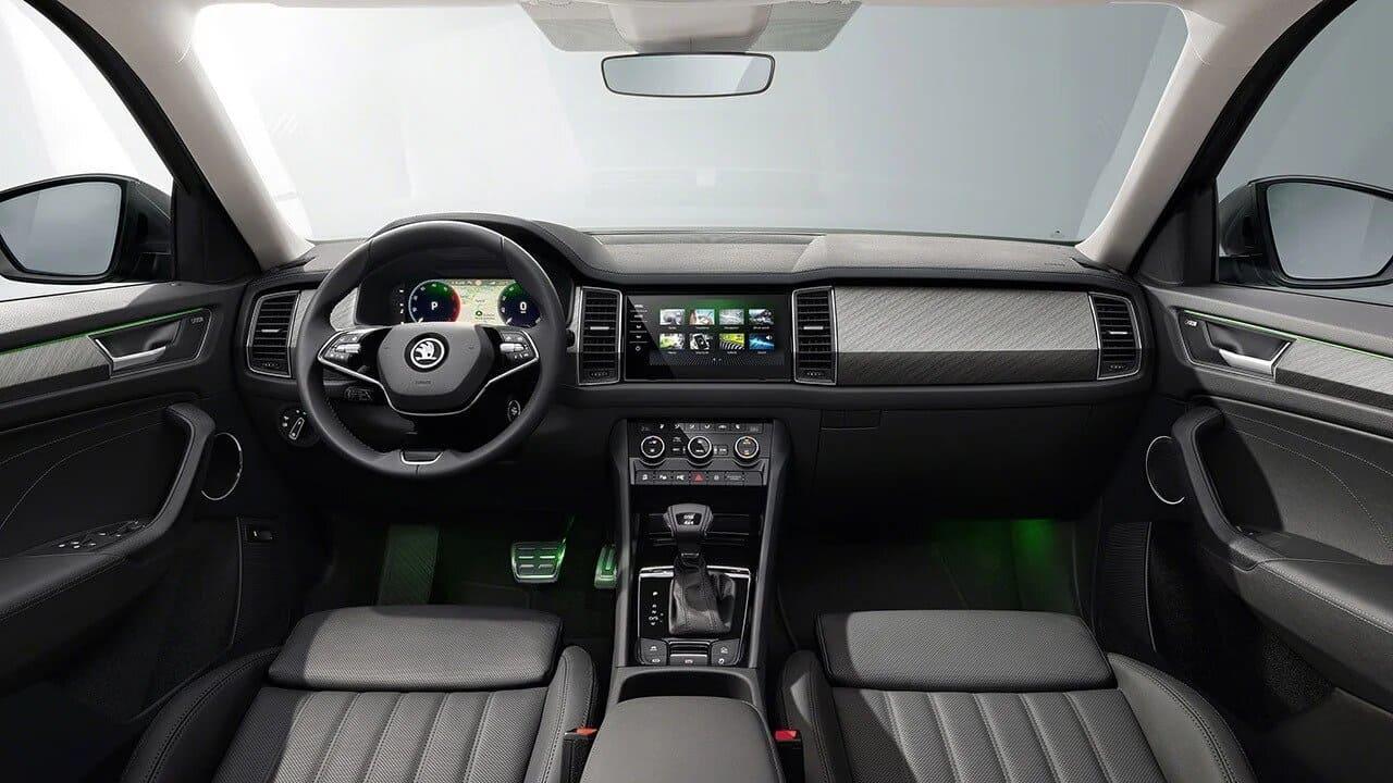 skoda-kodiaq-2021-diseño-interior